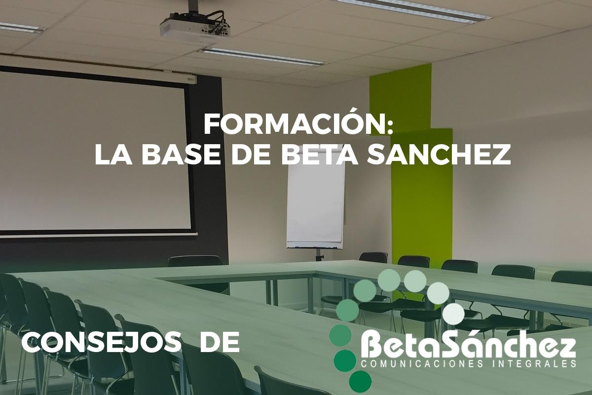 Formación Beta Sánchez